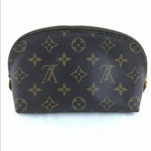 Louis Vuitton Pouchette Cosmetic Pouch Monogram